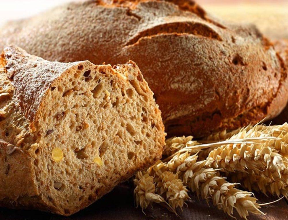 Хлеб из цельнозерновой муки в хлебопечке
